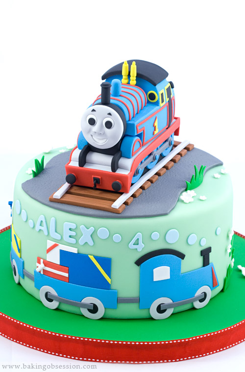 Thomas The Train Cake Figures