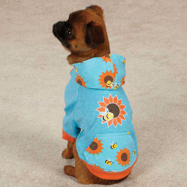 Flutter Bugs Dog Pullover Bee