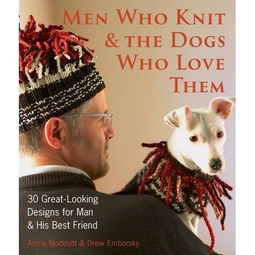 Men Who Knit & Their Dogs BaxterBoo