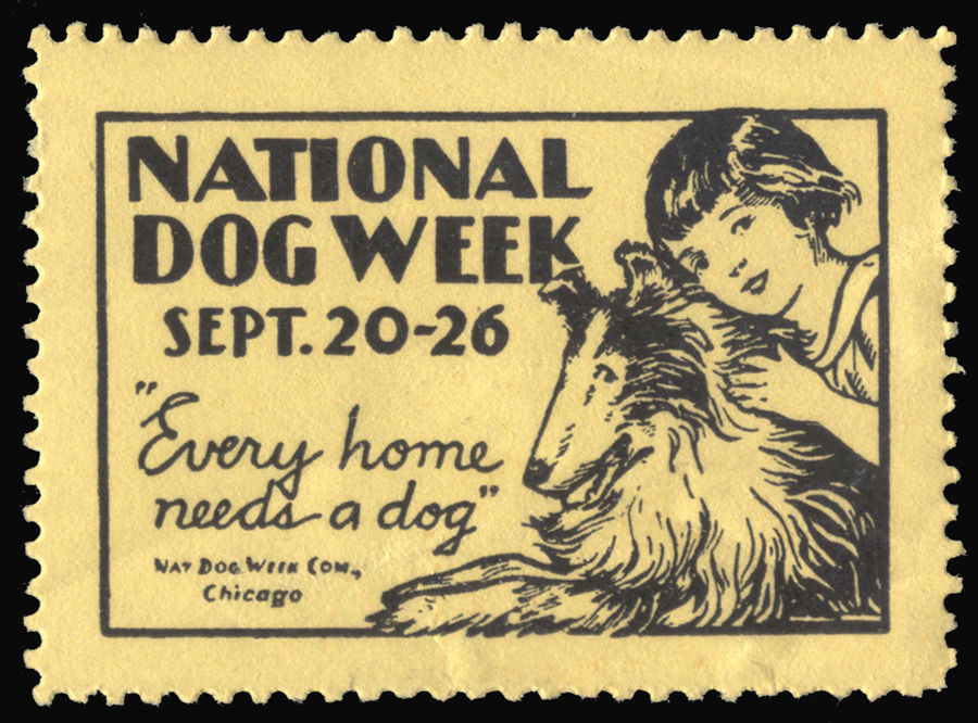 National Dog Week 1936