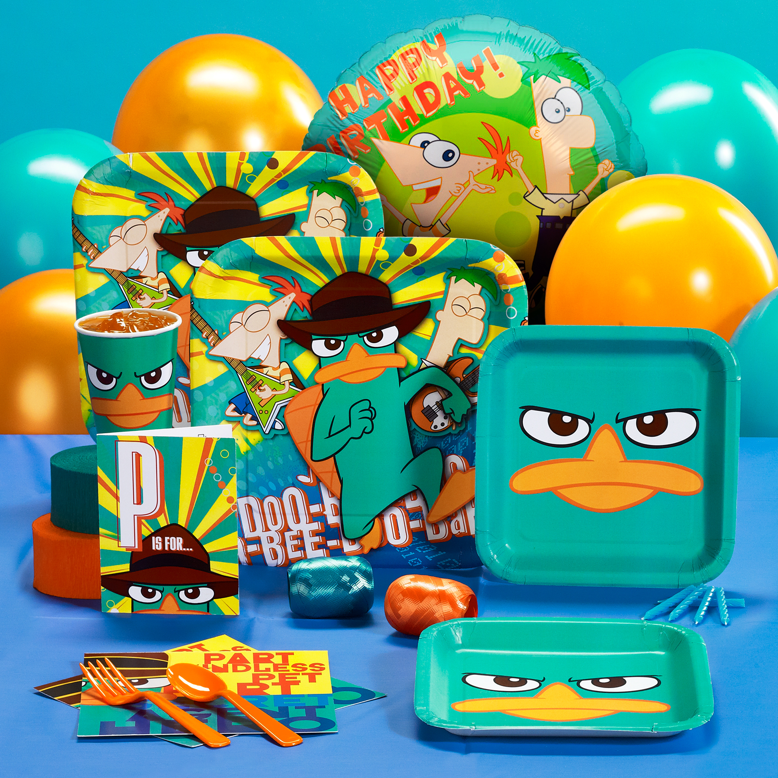 Phineas & Ferb: Fun for Kids of All Ages at Total Birthday