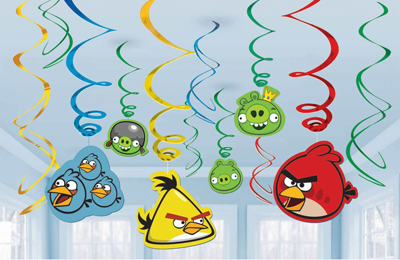 Making your angry birds theme party fly baxterboo for Angry bird decoration ideas