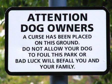 Dog Sign Curse