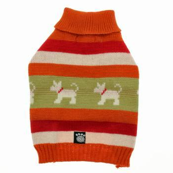 fritzys-fair-isle-dog-sweater-orange-spice-1