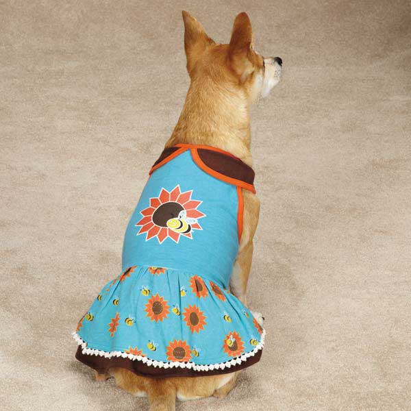 Flutter Bugs Dog Dress