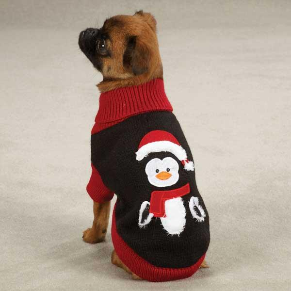zack-zoey-holiday-penguin-dog-sweater-1