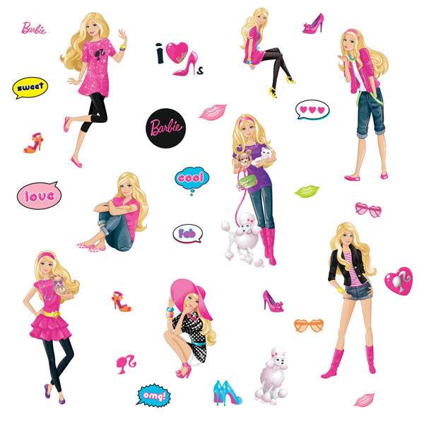 Wall Stickers Barbie