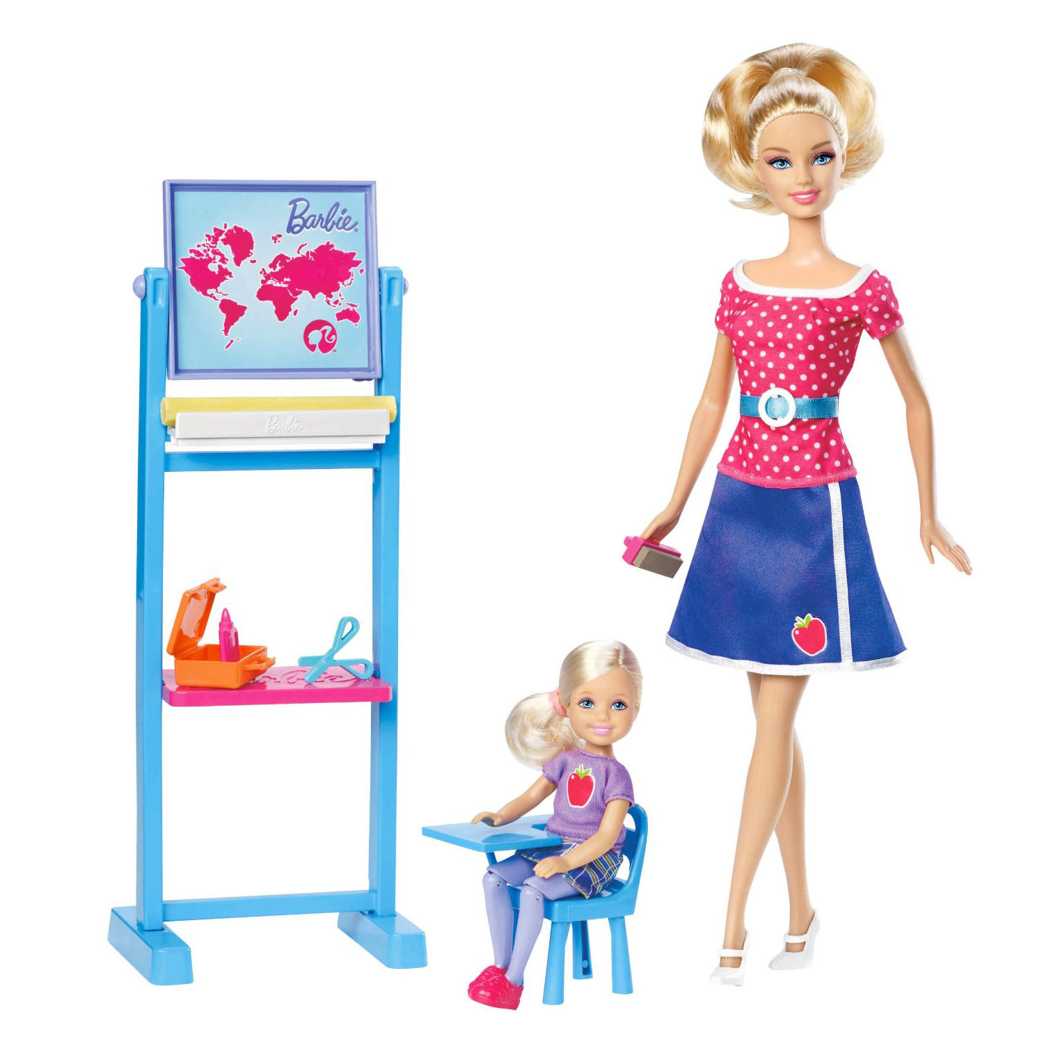 Toys For Teachers : Barbie toys i can be teacher doll playset at toystop