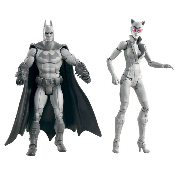 Batman Toys   Arkham City Batman and Catwoman BW 2 Pack at ToyStop vetc9eaC