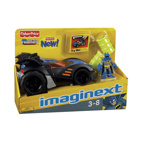 Batmobile Toy Imaginext Batman Toys Imaginext