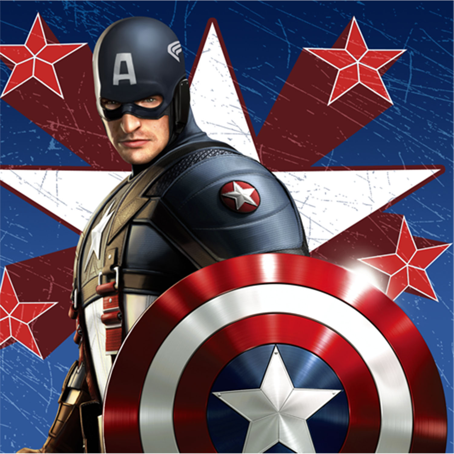 captain america party supplies beverage napkins at toystop. Black Bedroom Furniture Sets. Home Design Ideas