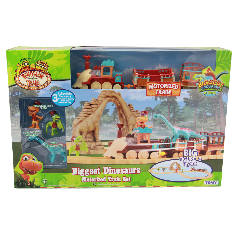 Dinosaur Train Toys - Biggest Dinosaurs Motorized Train ...