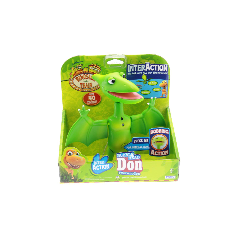 Dinosaur Train Toys - InterAction Bobble Head Don ...