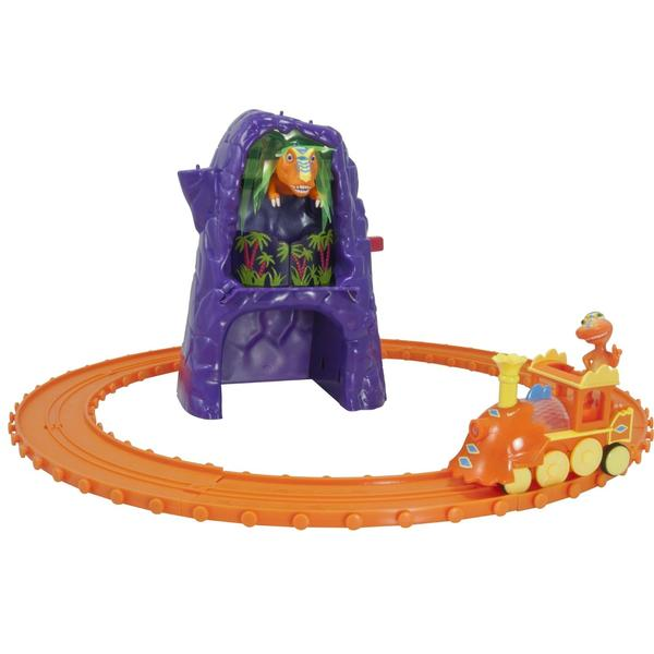 Dinosaur Train Toys - Welcome to Rexville Train Set at ToyStop