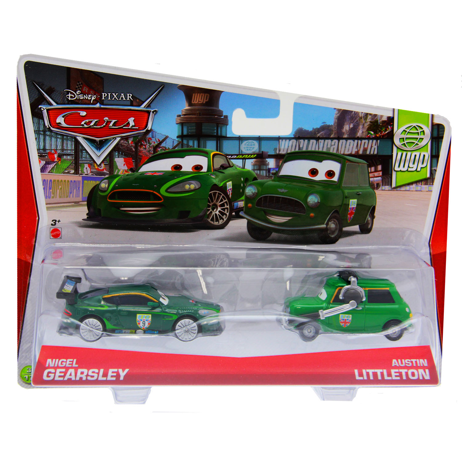 Cars 1 And 2 Toys : Disney cars toys pack nigel gearsley and austin