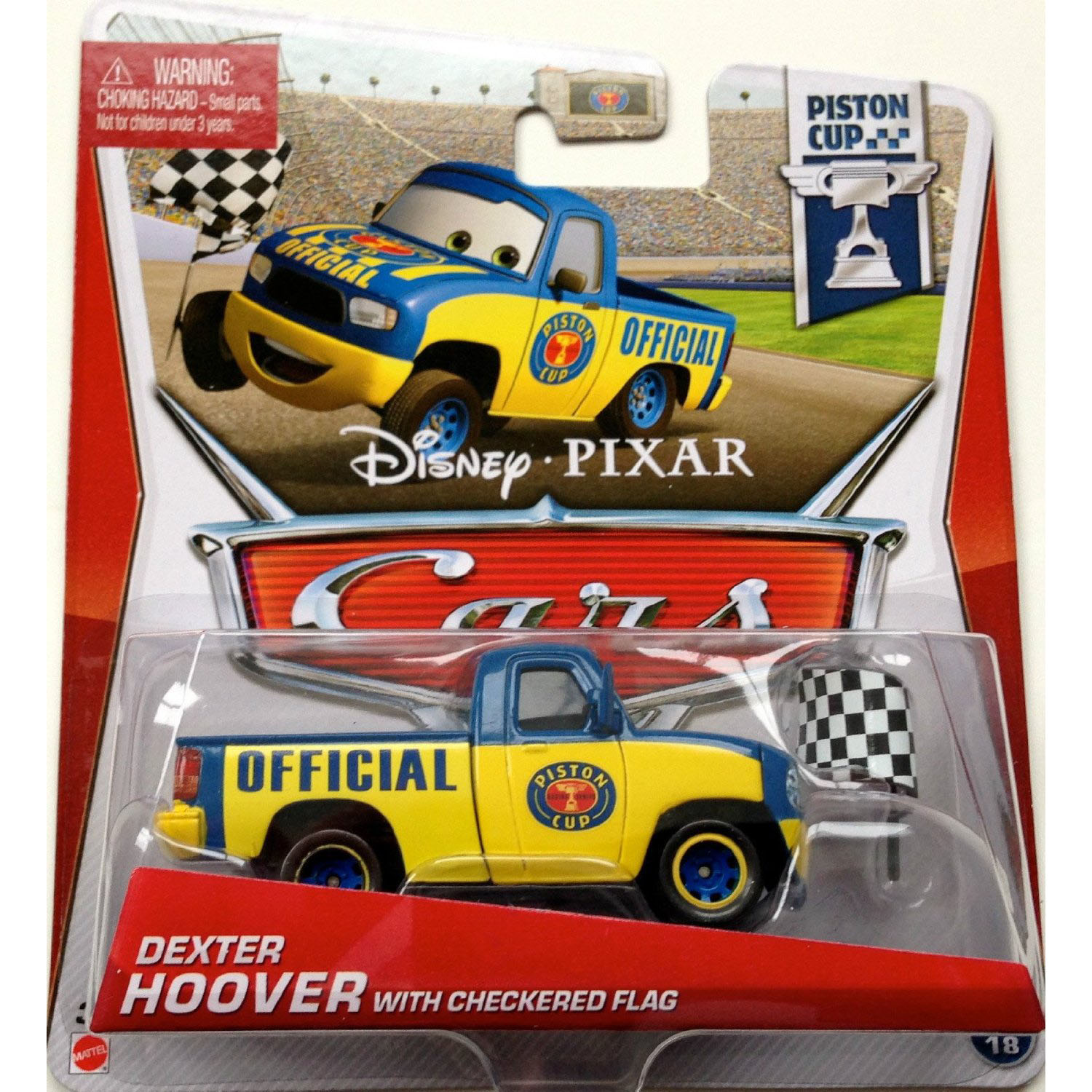 Thomas The Train Bedroom Decor Disney Cars Toys Die Cast Dexter Hoover With Checkered