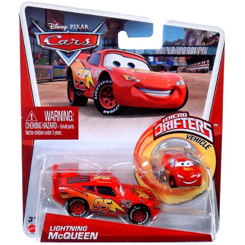Disney Cars Toys   Lightning McQueen Die Cast and Micro Drifter at k9f340uC