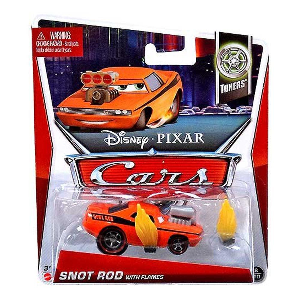 Disney Cars Toys   Tuners Snot Rod with Flames at ToyStop wDW9p7nH