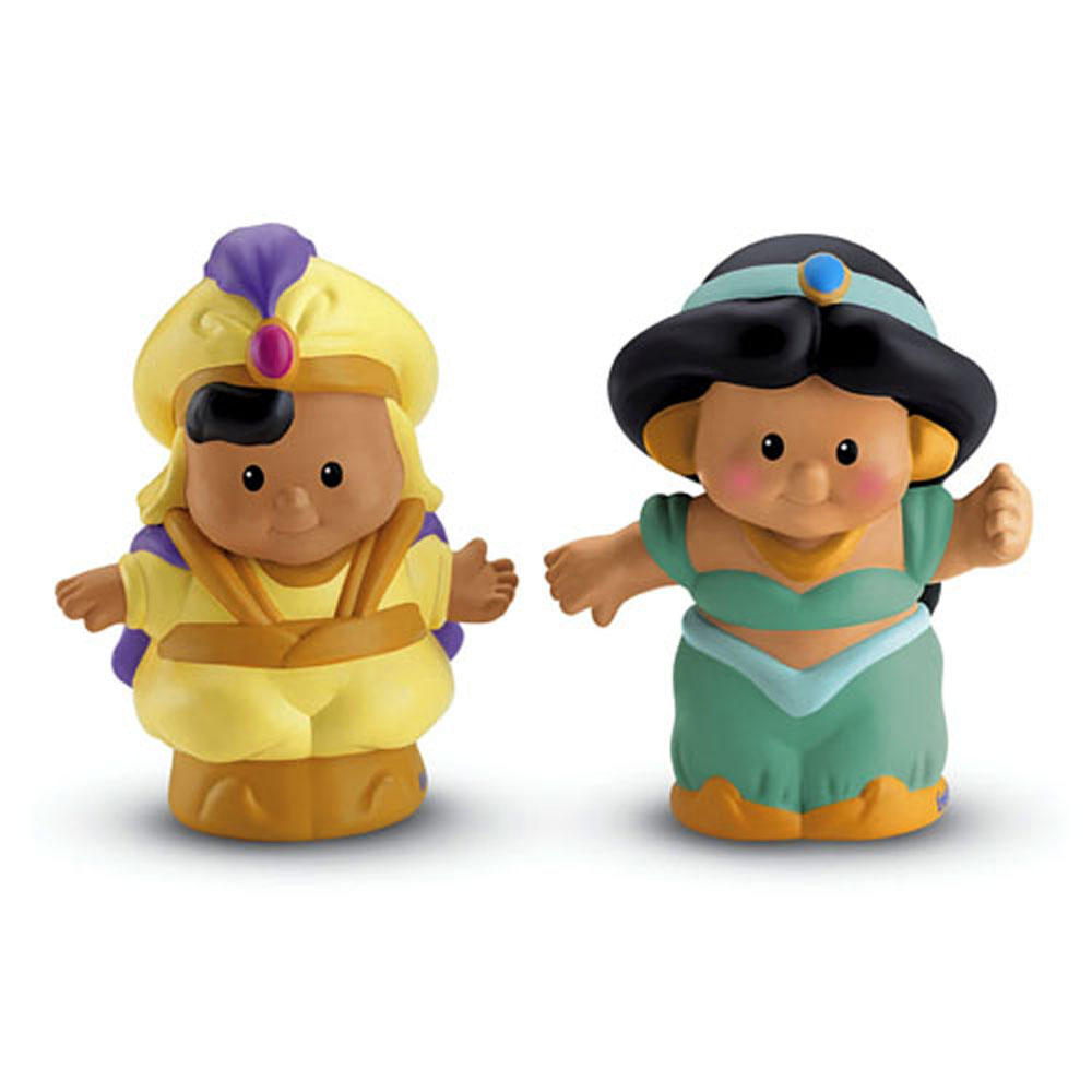 Little People Toys : Disney princess toys aladdin and jasmine little people
