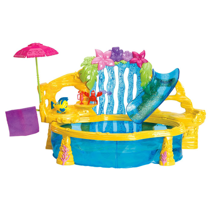 The Little Mermaid Toys Pool Party Playset At Toystop