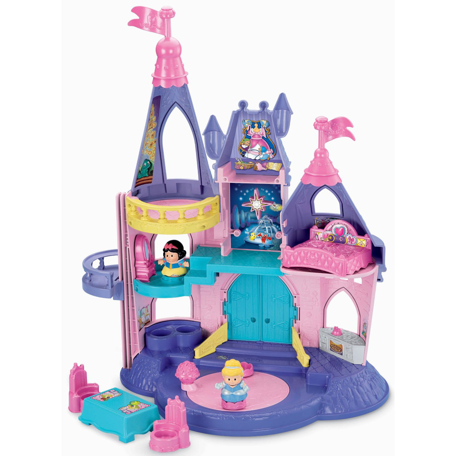 Disney Princess Toys   LITTLE PEOPLE DISNEY PRINCESS SONGS PALACE at yD9UF6kK