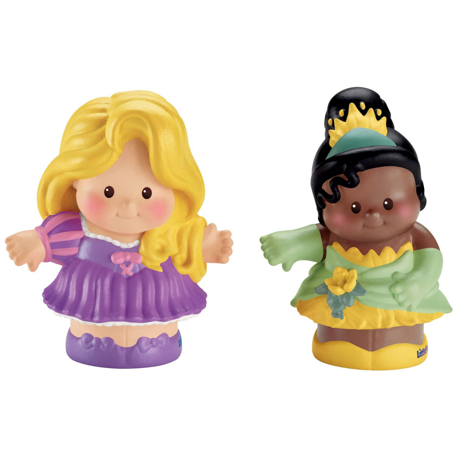 Disney Princess Toys Rapunzel And Tiana Little People 2