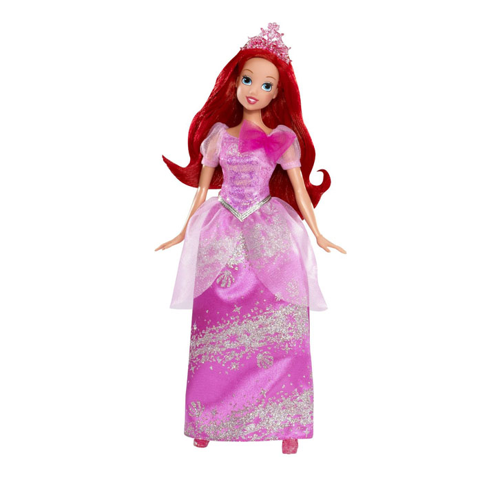The little mermaid dolls sparkling ariel at toystop