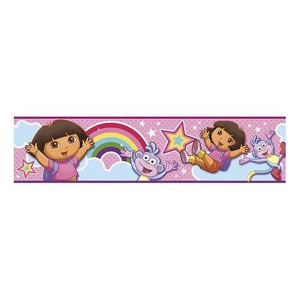 Dora Birthday Wall Decoration : Dora the explorer bedroom decor self stick