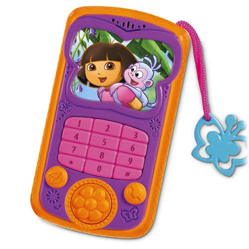 Dora Toys For Girls : Dora the explorer toys talk explore cell phone at toystop