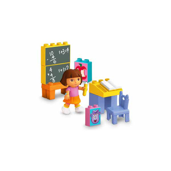 Dora The Explorer Toys Dora S Mega Bloks School