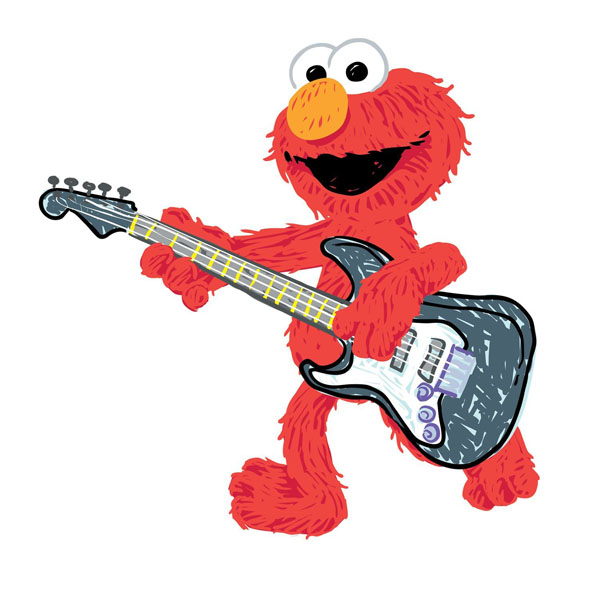 elmo bedroom decor rock amp roll giant wall decal at toystop chuggington trains personalized name wall sticker mural 3