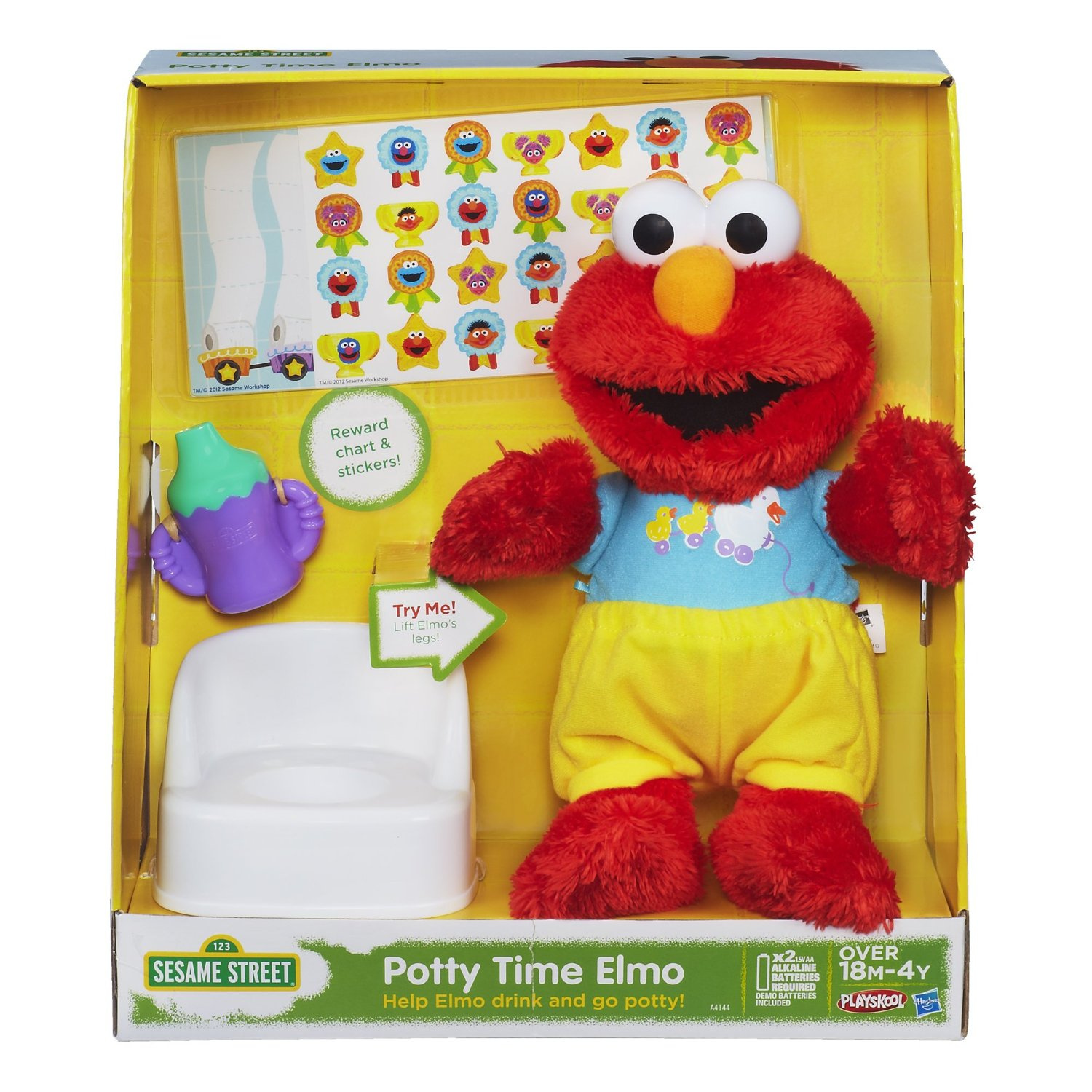 Toys For Potty Training : Elmo toys playskool potty time at toystop
