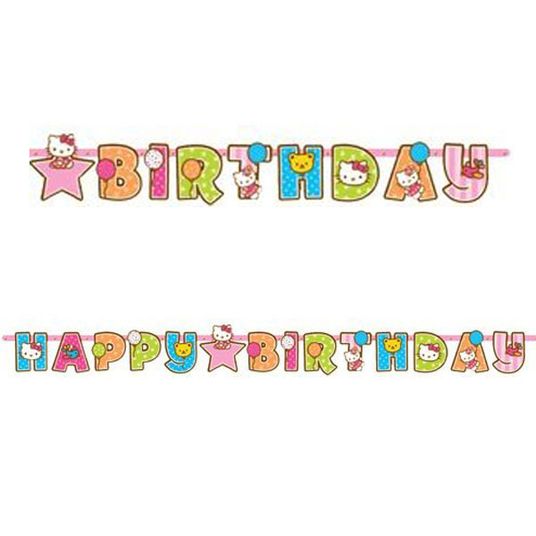 Add-an-Age Birthday Banner At