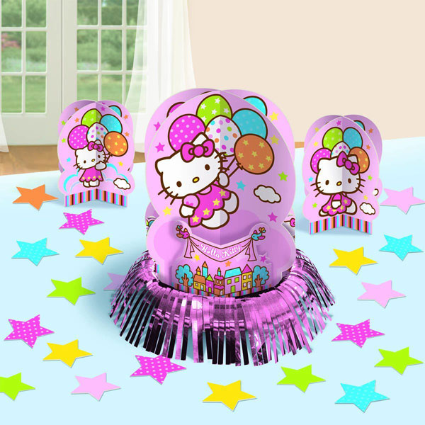 Hello Kitty Party Supplies - Table Decoration Kit at ToyStop