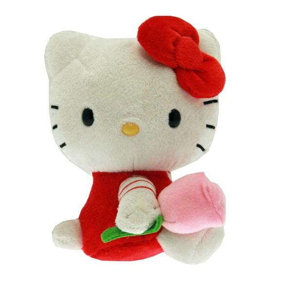 Hello Kitty Stuff Toys : Hello kitty plush red outfit toy at toystop