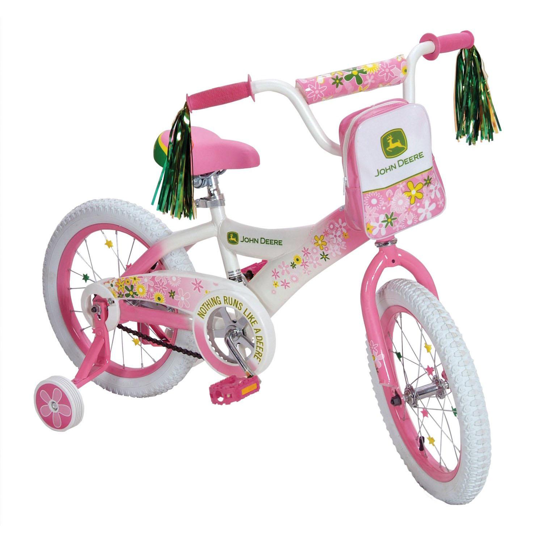Bike Girls Toys For Birthdays : John deere toys girls bike pink at toystop