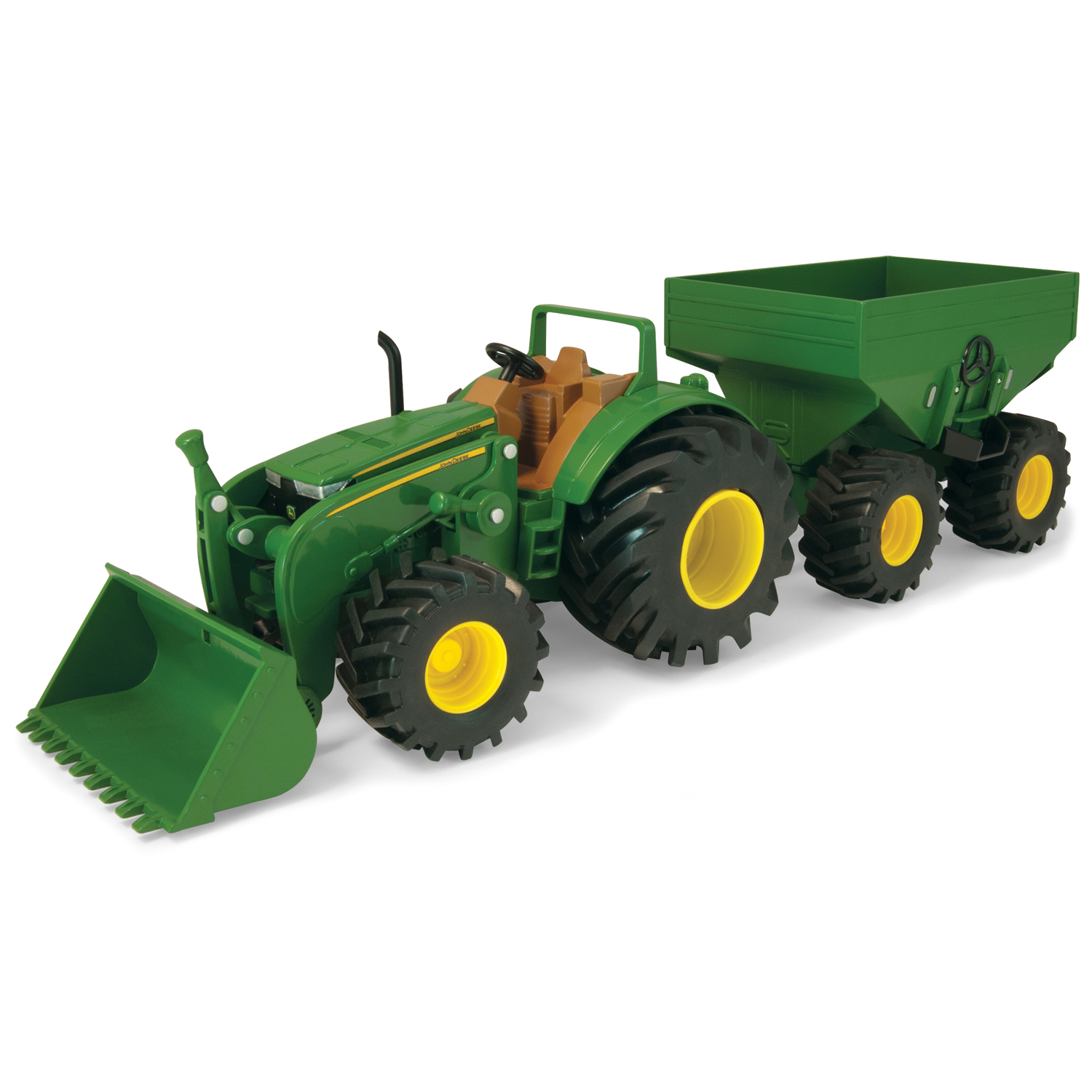 John deere toys tractor with gravity wagon amp loader at toystop