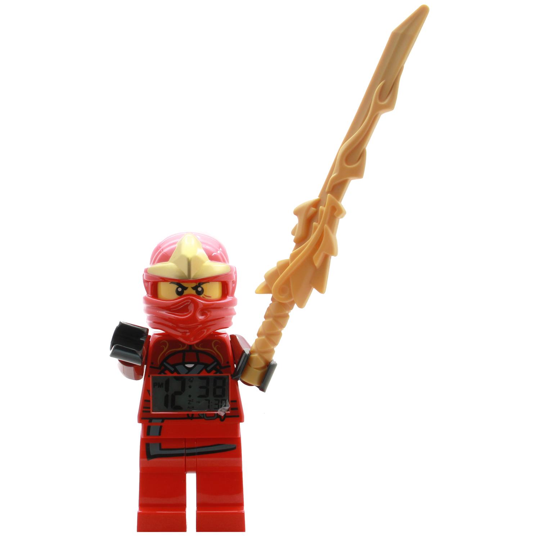 Lego bedroom decor ninjago kai zx clock at toystop - Ninjago kai zx ...