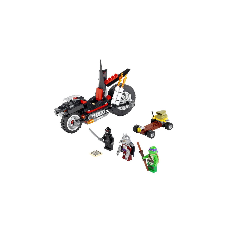 Lego Ninja Toys : Lego toys ninja turtles shredders dragon bike at toystop