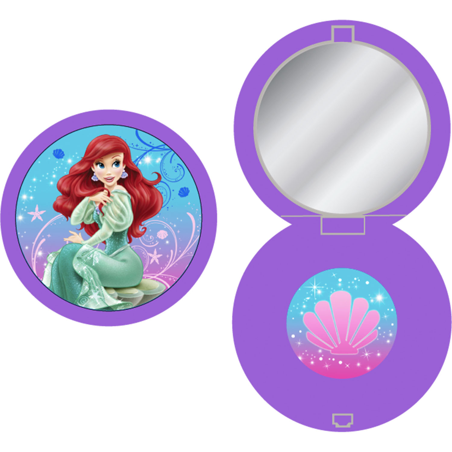 The Little Mermaid Party Supplies - Sparkle™ Compact ...