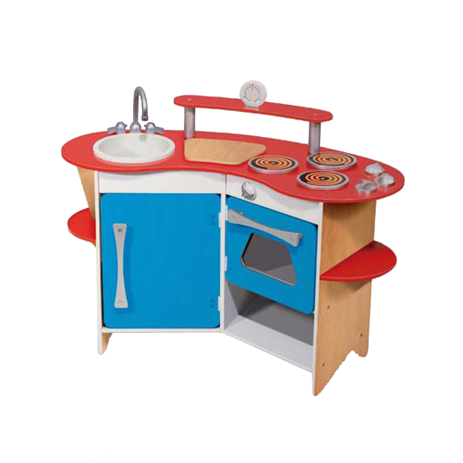 Melissa And Doug Wooden Kitchen: Cook's Corner Wooden Kitchen At ToyStop