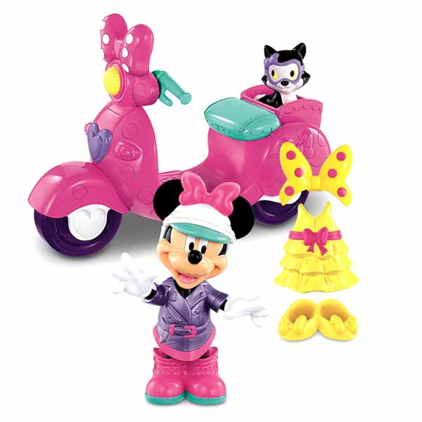 Minnie Mouse Toys : Minnie mouse toys fashion scooter ride playset at toystop