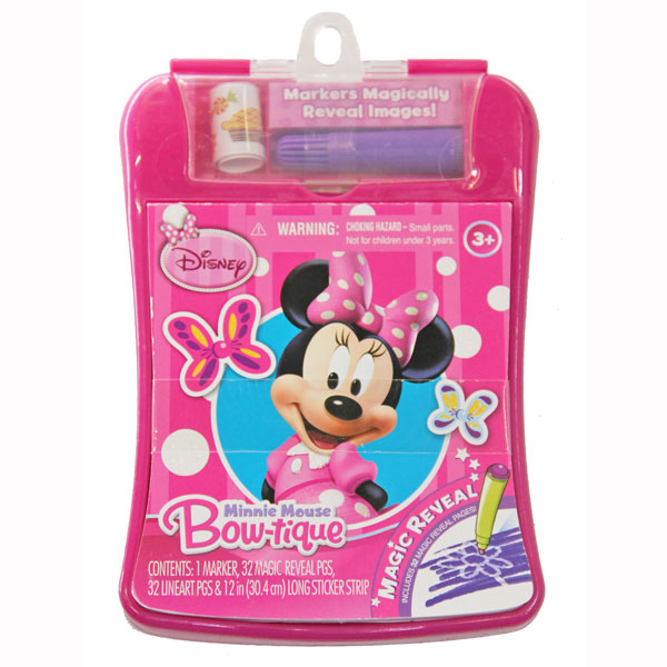 Minnie Mouse Toys : Minnie mouse toys magic reveal activity fun pad at toystop