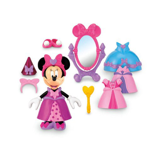 Minnie mouse toys princess bow tique at toystop - Princesse minnie ...