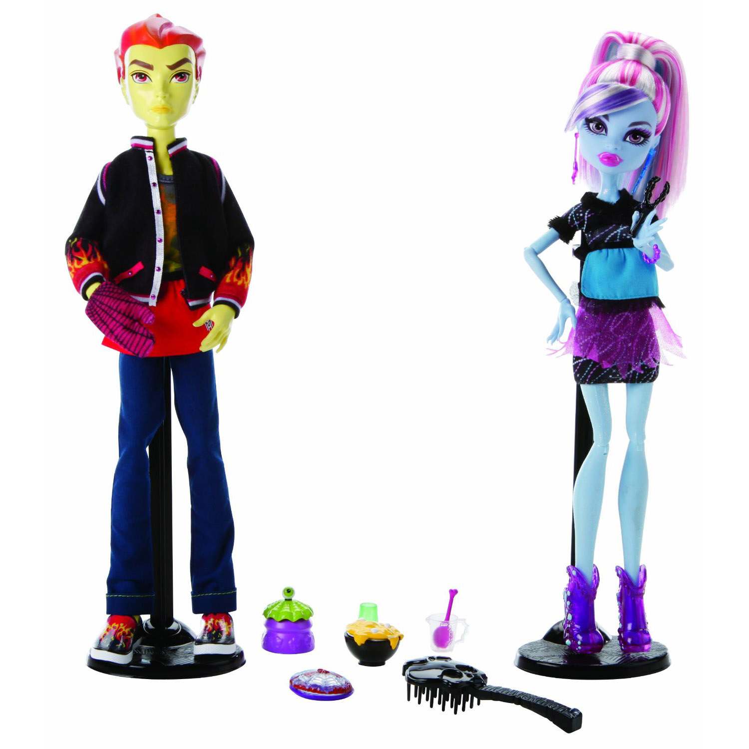 Monster High Toys : Monster high toys classroom pack abbey bominable and