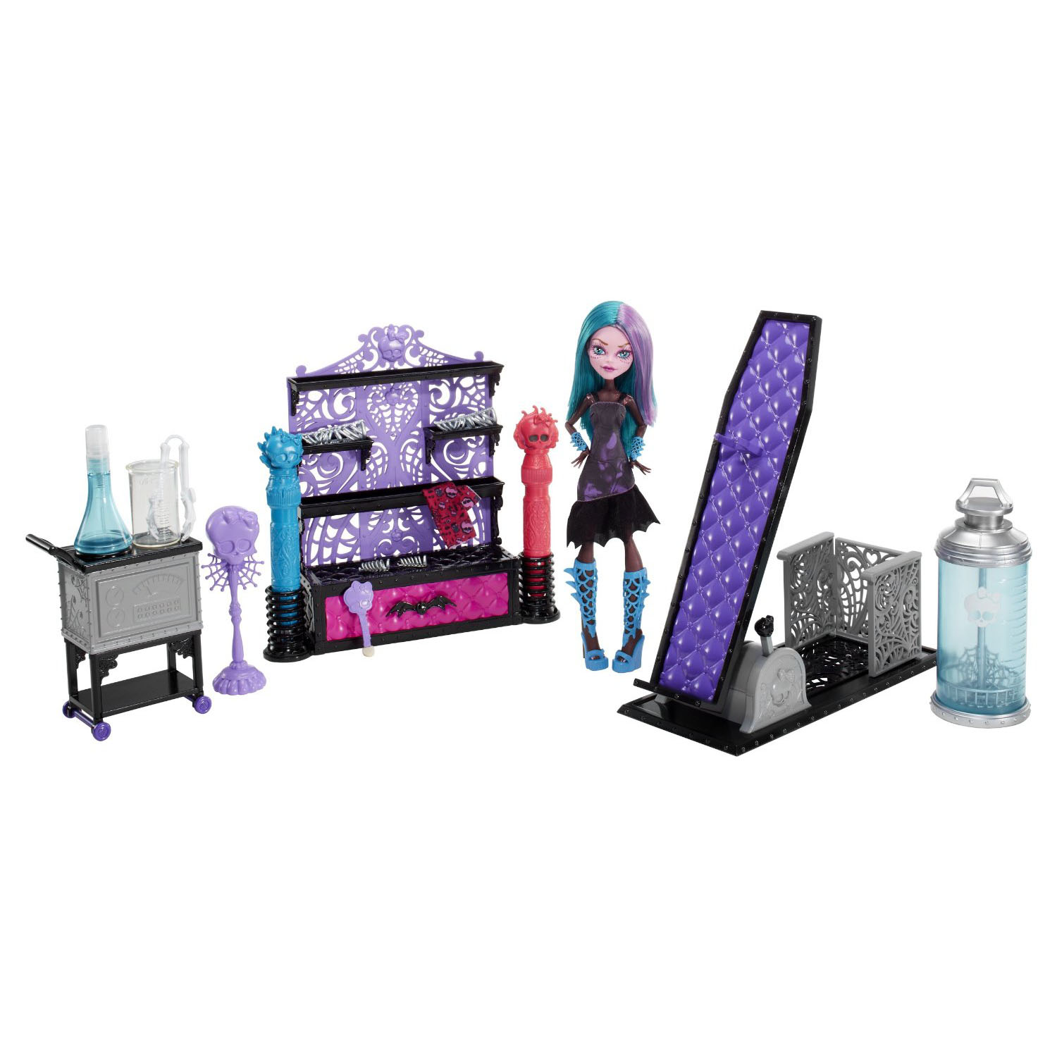 Monster High Toys : Monster high toys create a color me creepy