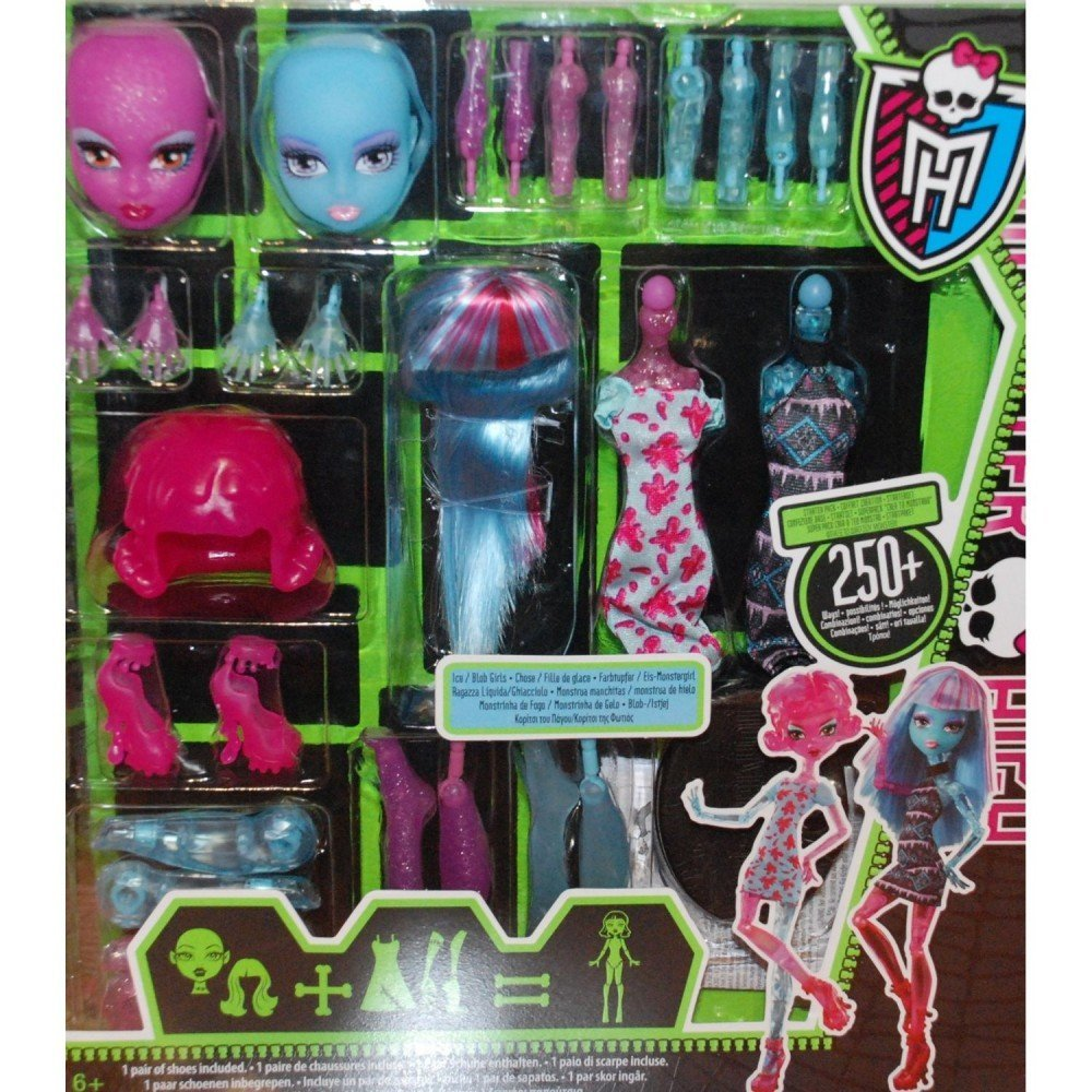 Amazon.com: Monster High Create-A-Monster Design Lab ...