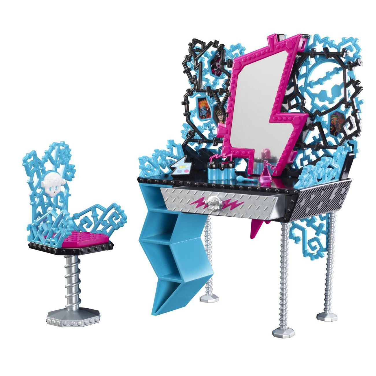 Monster High Toys : Monster high toys frankie s vanity playset at toystop