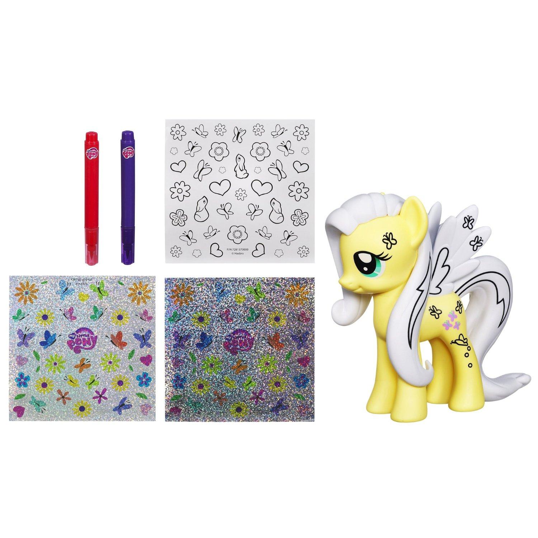 my little pony toys design a pony fluttershy figure at