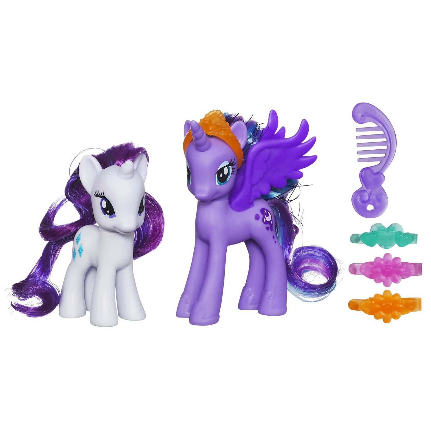 My Little Pony Toys Princess Luna And Rarity Figures At Toystop